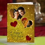 Personalized New Year Greeting Card for loved one 020