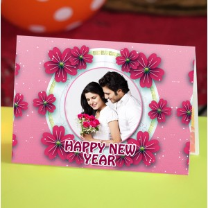 Personalized New Year Greeting Card universal 010