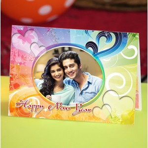 Personalized New Year Greeting Card universal 011