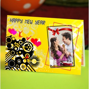Personalized New Year Greeting Card universal 012