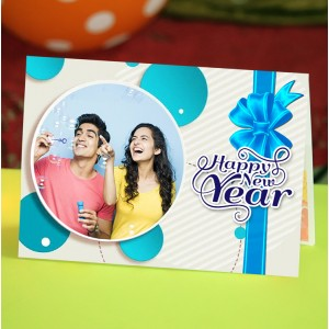 Personalized New Year Greeting Card universal 015