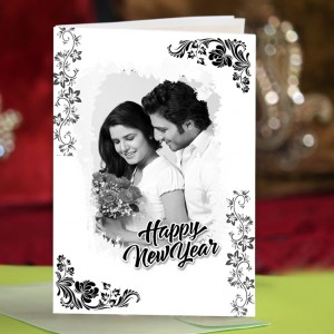 Personalized New Year Greeting Card universal 022