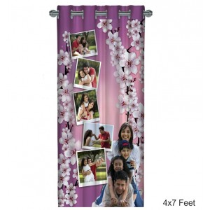 Personalized Photo Curtain A