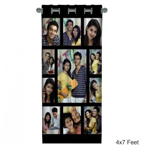 Personalized Photo Curtain B