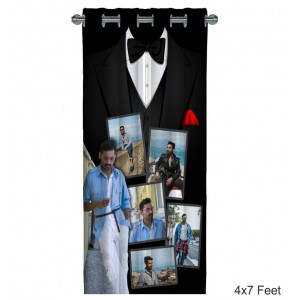 Personalized Photo Curtain C