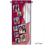 Personalized Photo Curtain F