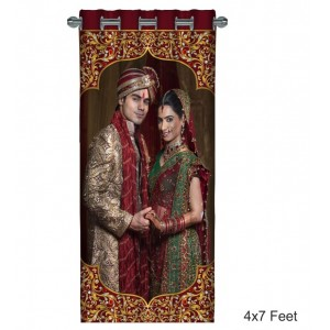 Personalized Photo Curtain G