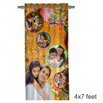 Personalized Photo Curtain H