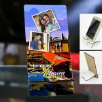 Personalized Photo Mobile Stand with Kashmir Design
