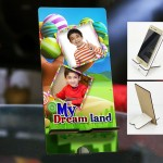 Personalized Photo Mobile Stand with Kids Design 2