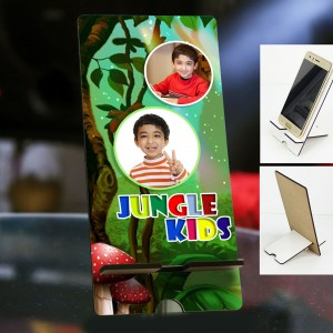 Personalized Photo Mobile Stand with Kids Design