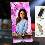 Personalized Photo Mobile Stand with Love Design 3