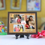 Personalized Photo Tiles with Frame Love Connection