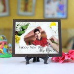 Personalized Photo Tiles with Frame My hero