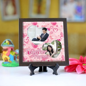 Personalized Photo Tiles with Frame Together Forever 2