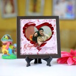 Personalized Photo Tiles with Frame together forever