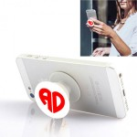 Personalized pop socket with Name Initials in Heart Shape