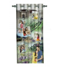 Personalized Pune Memories Photo Curtain