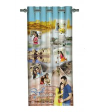 Personalized Rajasthan Memories Photo Curtain
