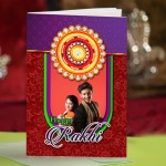Personalized Raksha bandhan Greeting Card 004