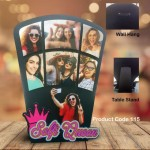 Personalized Selfie Queen multi layer MDF frame