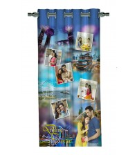 Personalized Singapore Memories Photo Curtain