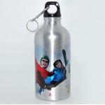 Personalized sipper bottle - Silver