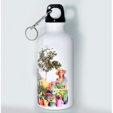 Personalized sipper bottle - white