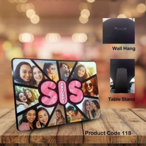Personalized Sis multi layer MDF frame