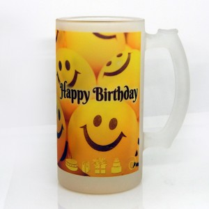 Personalized Special Juice mug with photo and message
