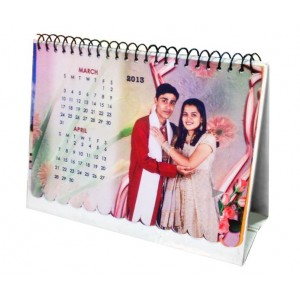 Personalized Table Calendar made of cloth