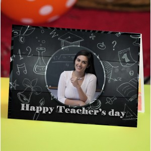 Personalized Teacher's Day Greeting Card 003