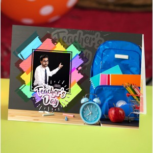 Personalized Teacher's Day Greeting Card 004