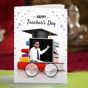 Personalized Teacher's Day Greeting Card 007