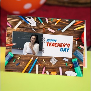 Personalized Teacher's Day Greeting Card 008