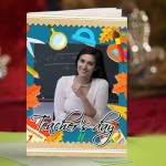 Personalized Teacher's Day Greeting Card 009
