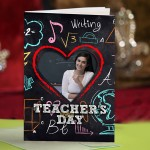 Personalized Teacher's Day Greeting Card 011