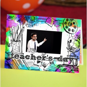 Personalized Teacher's Day Greeting Card 012