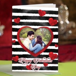 Personalized Valentine Greeting Card 004