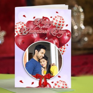 Personalized Valentine Greeting Card 005