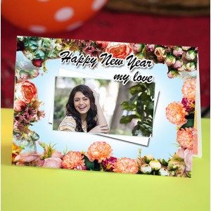 Personalized Valentine Greeting Card 008