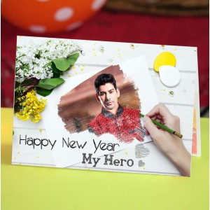Personalized Valentine Greeting Card 010