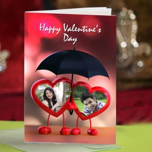 Personalized Valentine Greeting Card 011