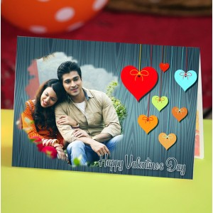 Personalized Valentine Greeting Card 012