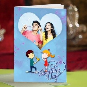 Personalized Valentine Greeting Card 013
