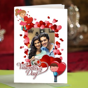 Personalized Valentine Greeting Card 014