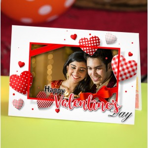 Personalized Valentine Greeting Card 016