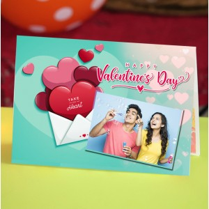 Personalized Valentine Greeting Card 018