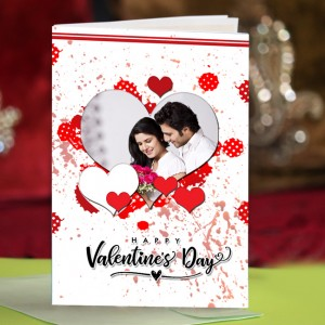 Personalized Valentine Greeting Card 019