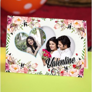 Personalized Valentine Greeting Card 021